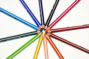 To Color Color Drawing Painting Crayons Colored