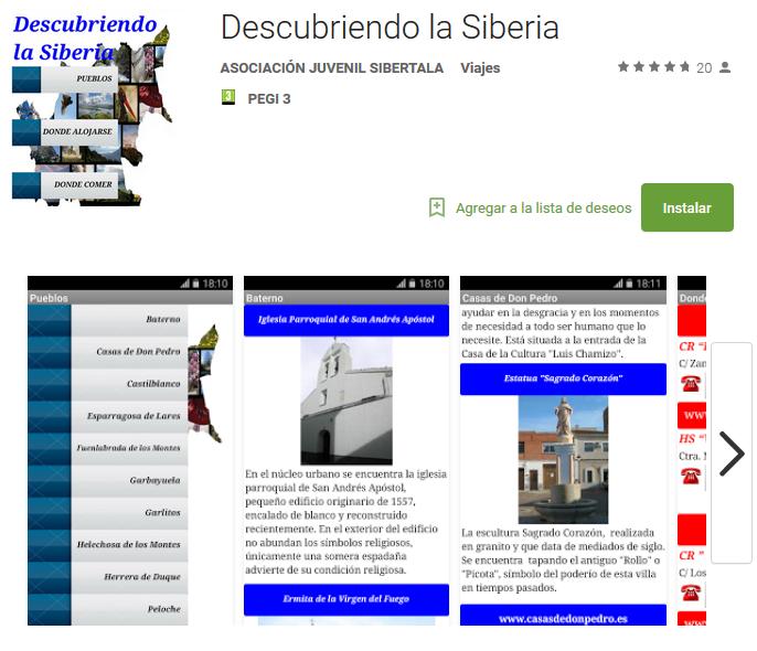 App Descubriendo La Siberia