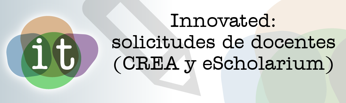 Innovated, Solicitudes de docentes