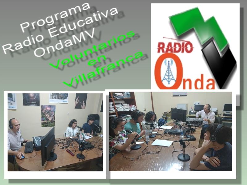 Programa Voluntarios en Villafranca