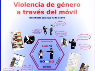 VIOLENCIA DE GÉNERO A TRAVÉS DEL MÓVIL. IES Benazaire. Grupo Todos iguales